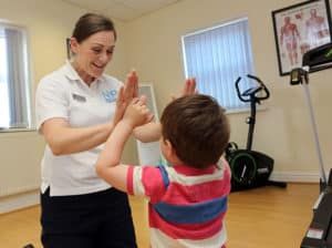 North Yorkshire Physiotherapy, Stokesley, Children