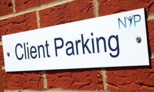 North Yorkshire Physiotherapy, Stokesley, Parking