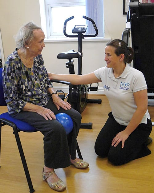 North Yorkshire Physiotherapy, stokesley, elderly