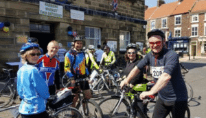 Stokesley, North Yorkshire Physiotherapy, cycling, charity