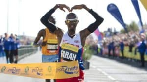 Mo Farah, Great North Run, Running, Run, North