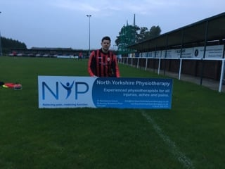 North Yorkshire Physiotherapy Sponsor Stokesley Sports Club Football Club
