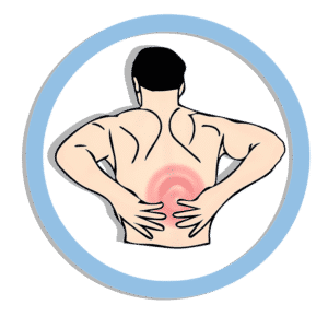 Image showing a person in pain