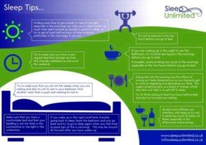 Sleep advice